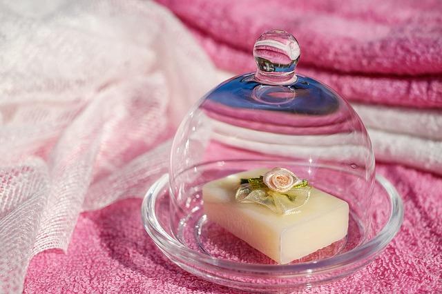 ručně dělané mýdlo