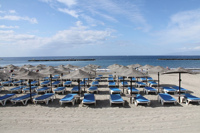 pláž na Tenerife