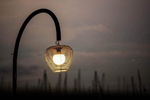 venkovní světlo