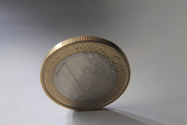 mince jedno euro