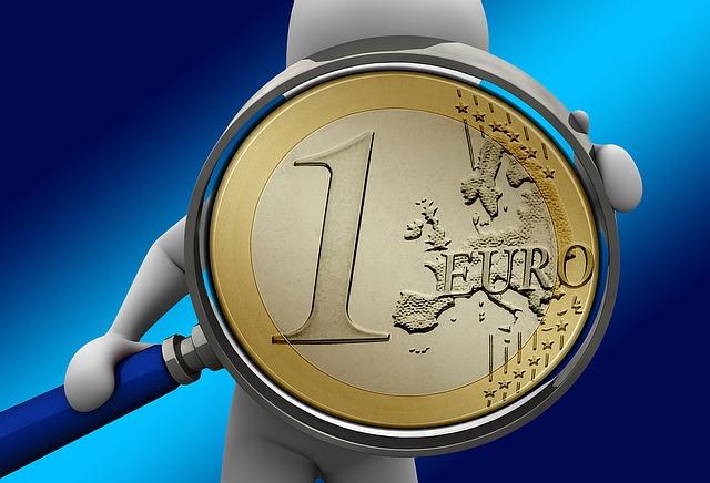 mince jedno euro pod lupou